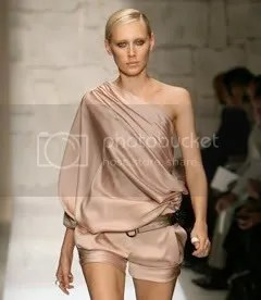 Salvatore Ferragamo Spring/Summer 2009 one-shoulder play suit