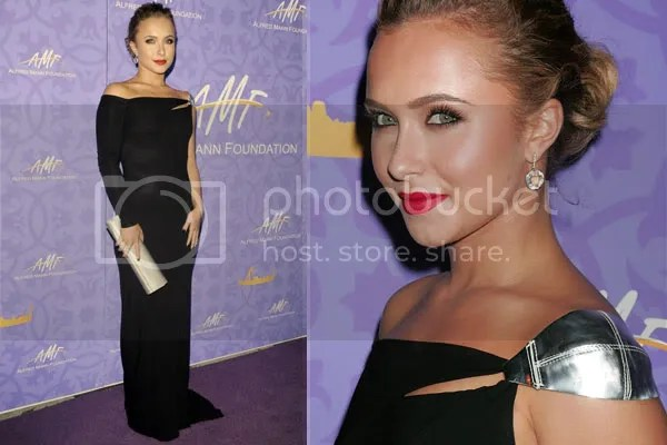 Hayden Panettiere in Kaufman Franco dress