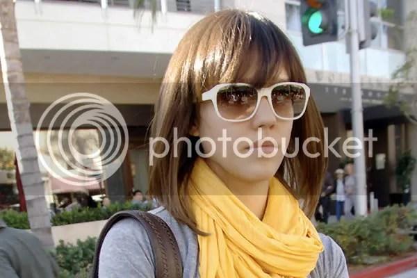 Jessica Alba hair cut style