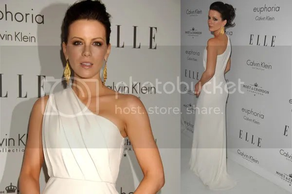 Kate Beckinsale Grecian fashion style
