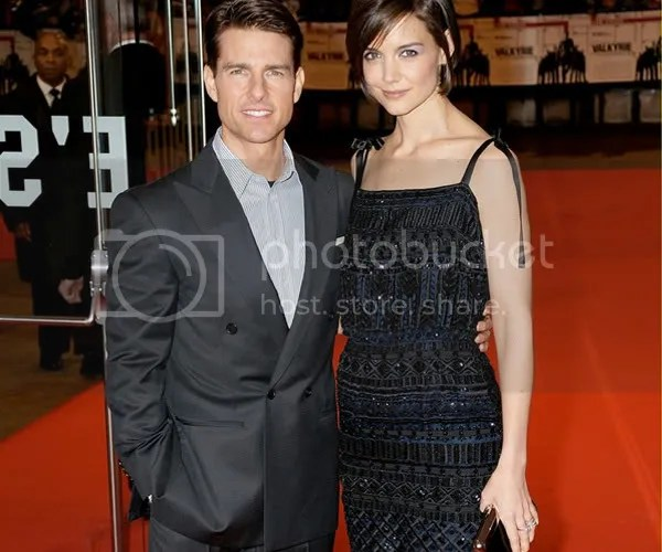 Katie Holmes and Tom Cruise fashion