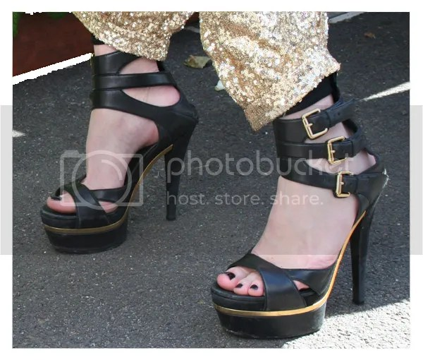 Caulfield Cup street style - Gucci shoes