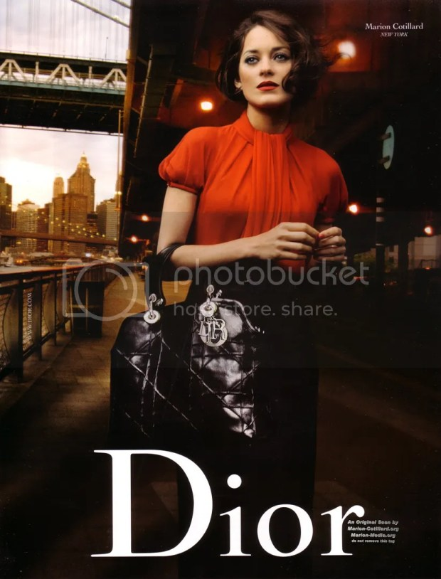 Christian Dior: Lady Dior: Marion Cotillard