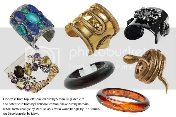2008 jewelry trends - bangles and cuffs