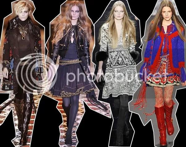 Bohemian Luxe Trend - Russian Gypsy