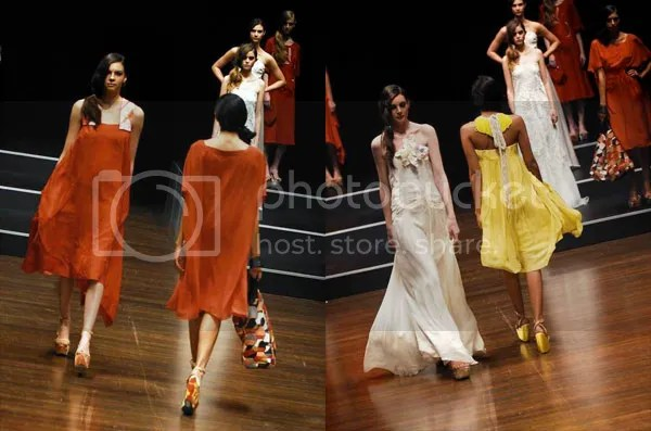 Melbourne Spring Fashion Week catwalk 1