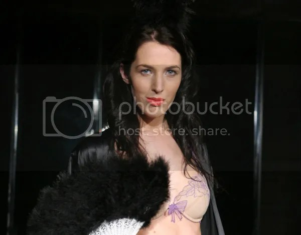 IM Lingerie on the runway at High Fashion, High Tea 2009