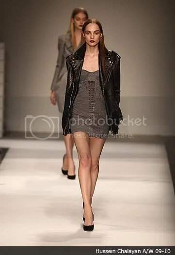 Leather trend: on the runway, Autumn(Fall)/Winter 2009-2010