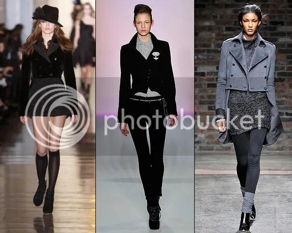 Female Dandy fashion trend 2010