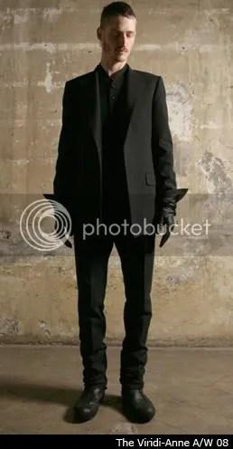 2009 Goth Ninja Menswear Trend: Mood Board