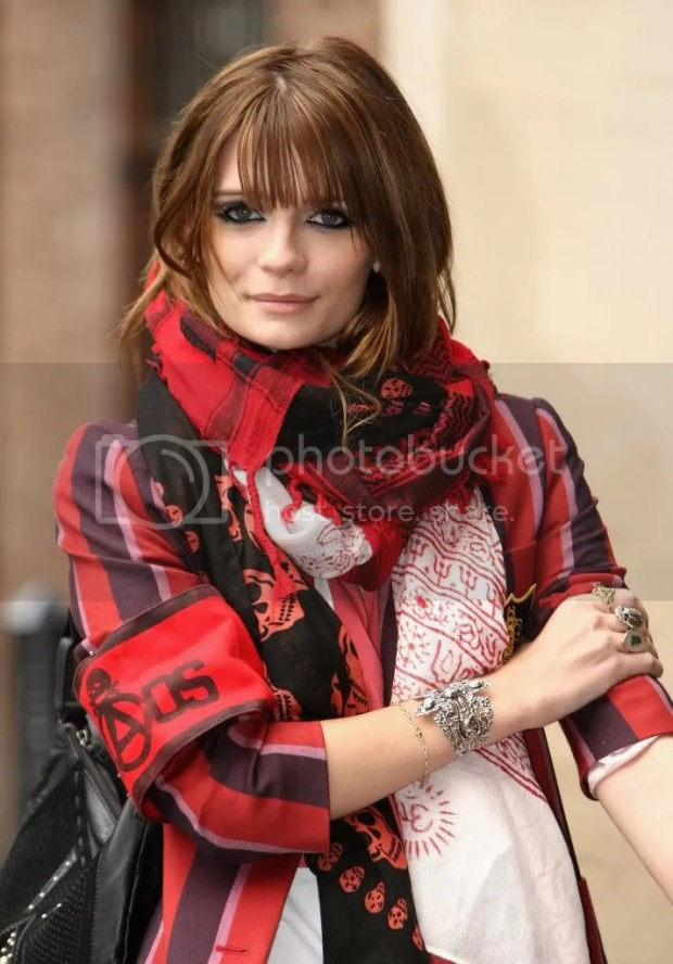 Mischa Barton at a photocall in London, April 2009