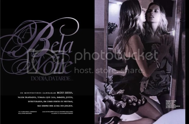 Alessandra Ambrosio: M & Guia Brazil Spring 2010