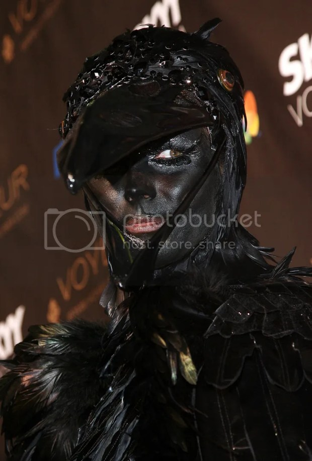 Heidi Klum Halloween 2009