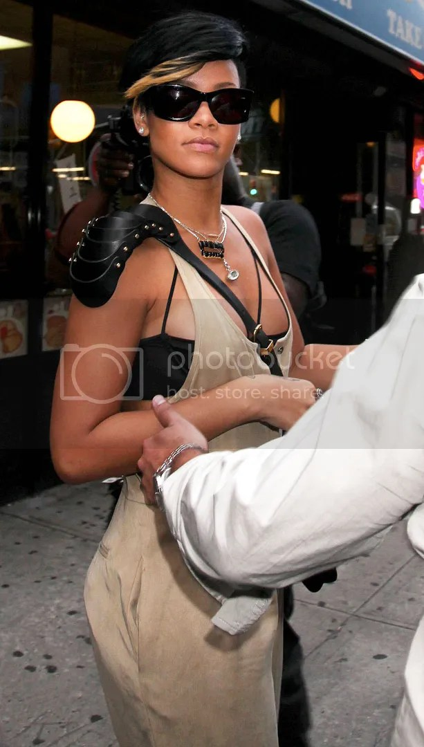 Rihanna in New York City