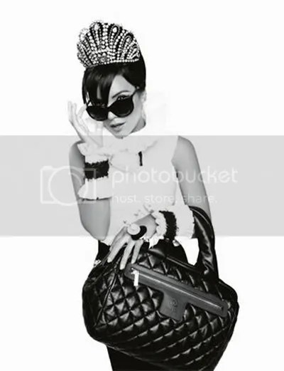 Lily Allen for Chanel Spring 2009: Handbag Campaign