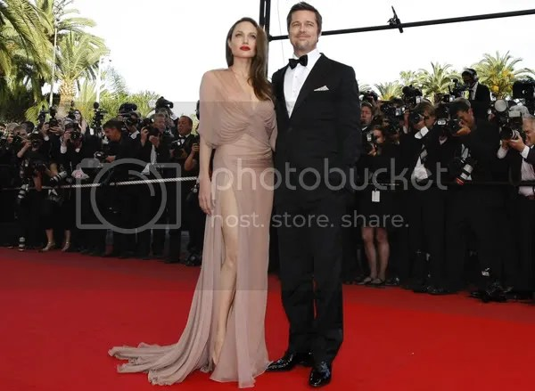 Angelina Jolie & Brad Pitt at Cannes 2009
