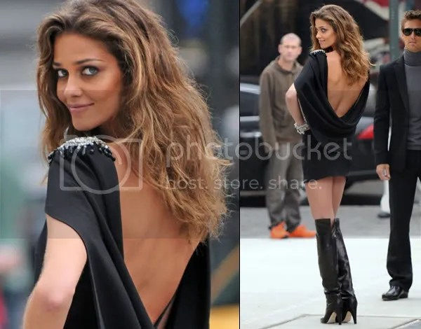 Ana Beatriz Barros in thigh-high boots