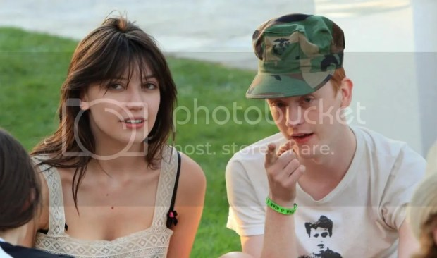 Daisy Lowe and Will Cameron at Coachella 2009