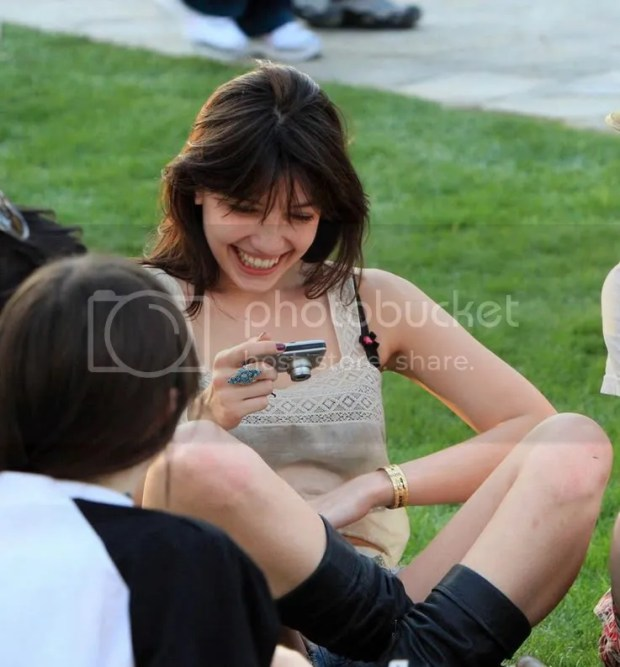 Daisy Lowe and Will Cameron at Coachella 2009