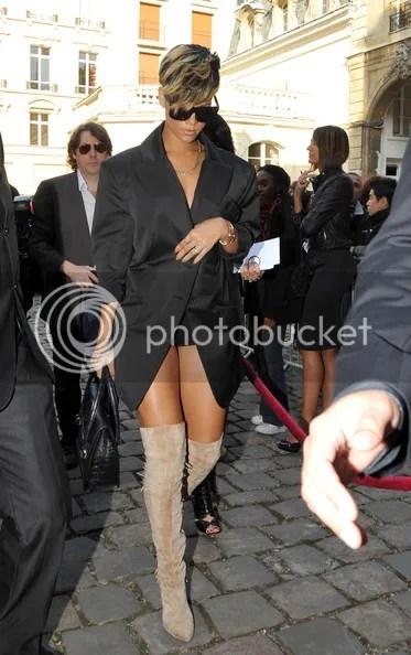 Rihanna at Vivienne Westwood Spring 2010 PFW