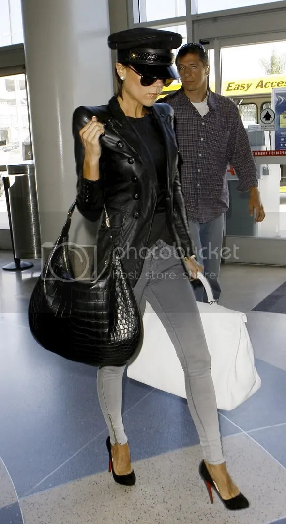 Victoria Beckham at LAX Airport May 2009