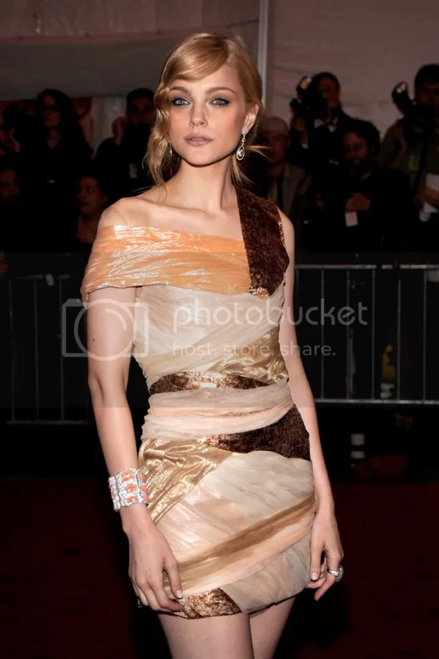 Jessica Stam at the MET Costume Institute Gala 2009