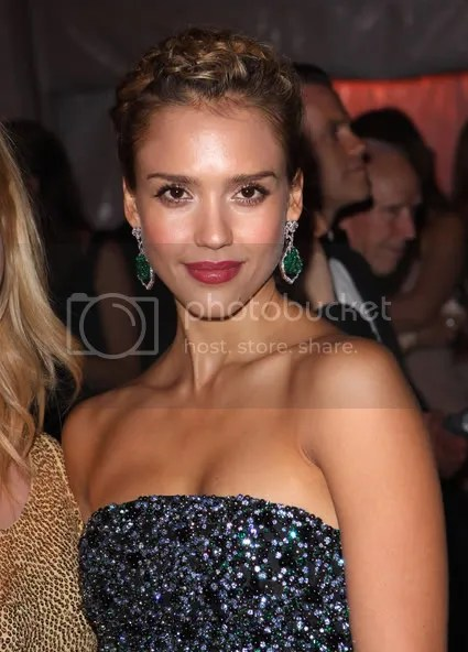 Jessica Alba at the MET 2009 Costume Institute Gala