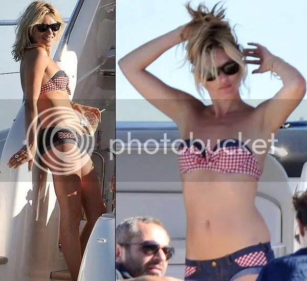 Kate Moss in an Agent Provocateur bikini
