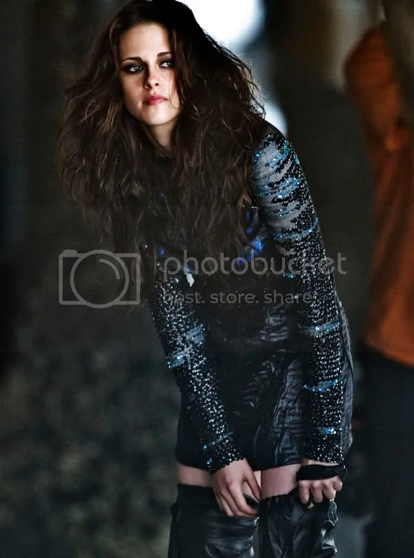 Kristen Stewart in Rodarte over-the-knee boots
