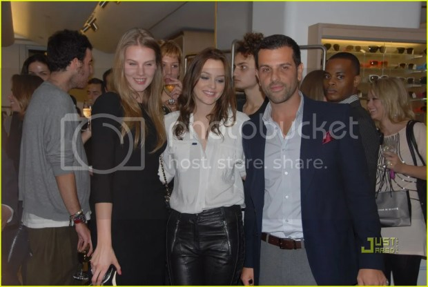 Leighton Meester at Fashion's Night Out