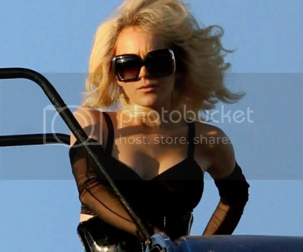Lindsay Lohan as Marilyn Monroe for Vogue Spain