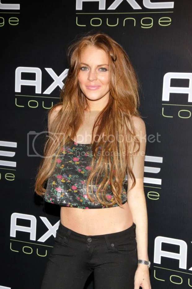 Lindsay Lohan at Axe Lounge - June 12, 2009