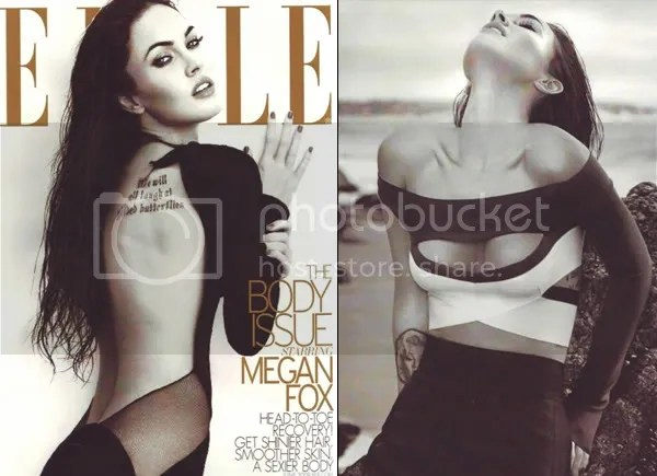 Megan Fox for Elle Magazine, June 2009