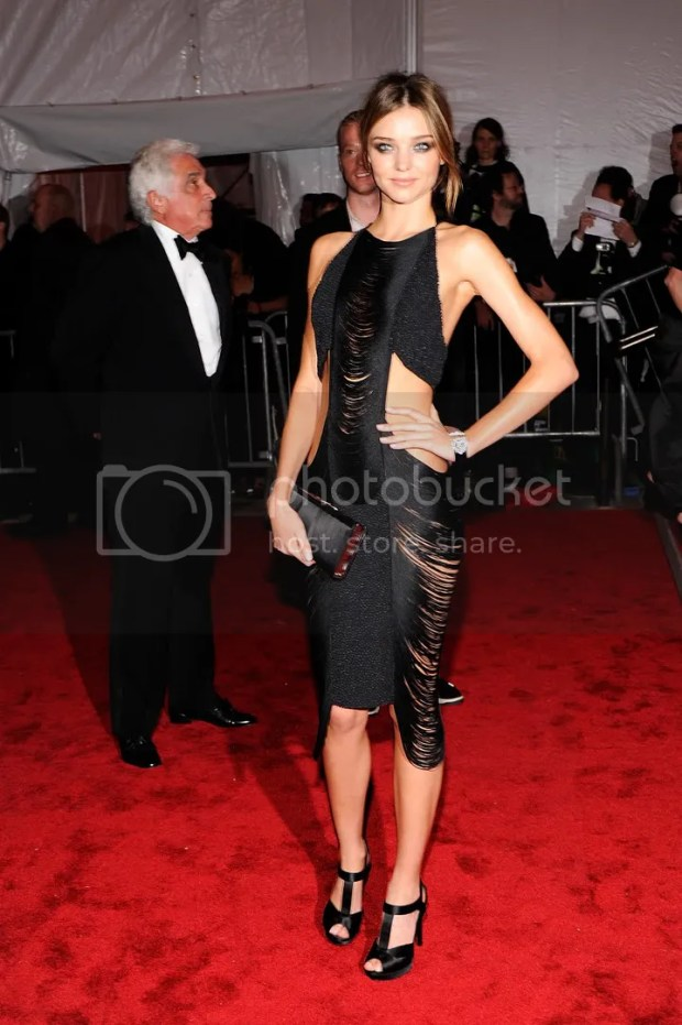 Miranda Kerr at the MET Costume Institute Gala 2009