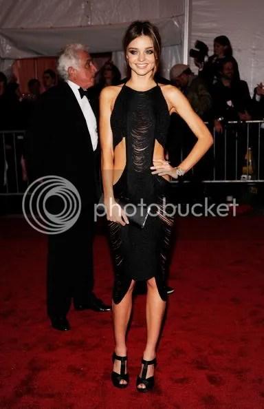 Miranda Kerr at the MET Costume Institute Gala 2009