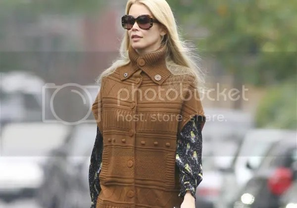 Claudia Schiffer in Paul and Joe