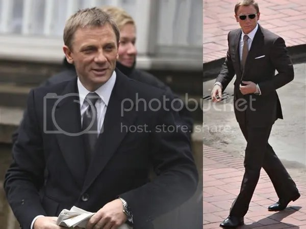Daniel Craig as James Bond in Tom Ford or Dunhill?