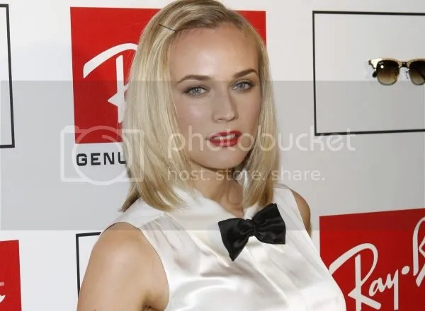Diane Kruger in a Chanel tuxedo
