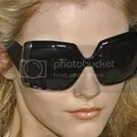 Christian Dior catwalk fall 2008 sunglasses