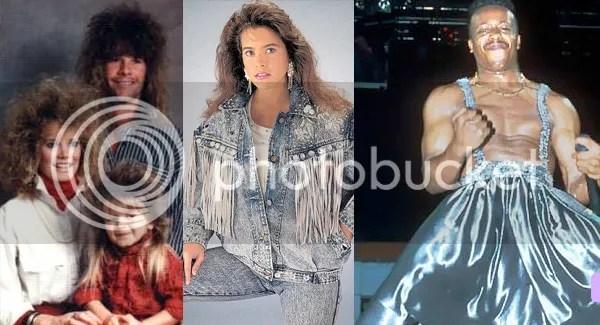 Bad 1980s fashion crimes
