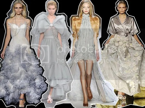 Romantic Fairy-tale Dress Runway Trend