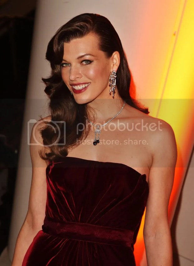 Milla Jovovich at The American Museum Of Natural History's Museum Dance