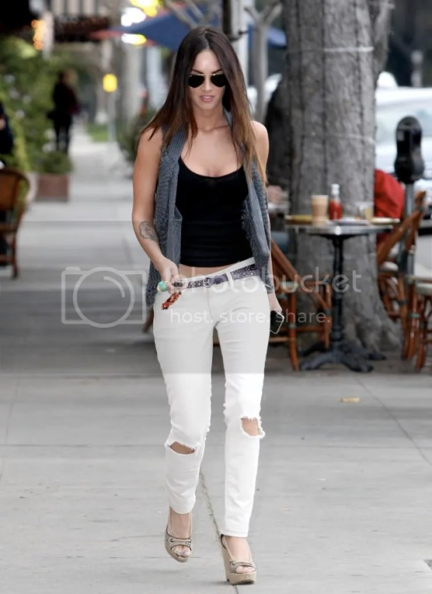 Megan Fox out and about in Los Angeles, April 2009