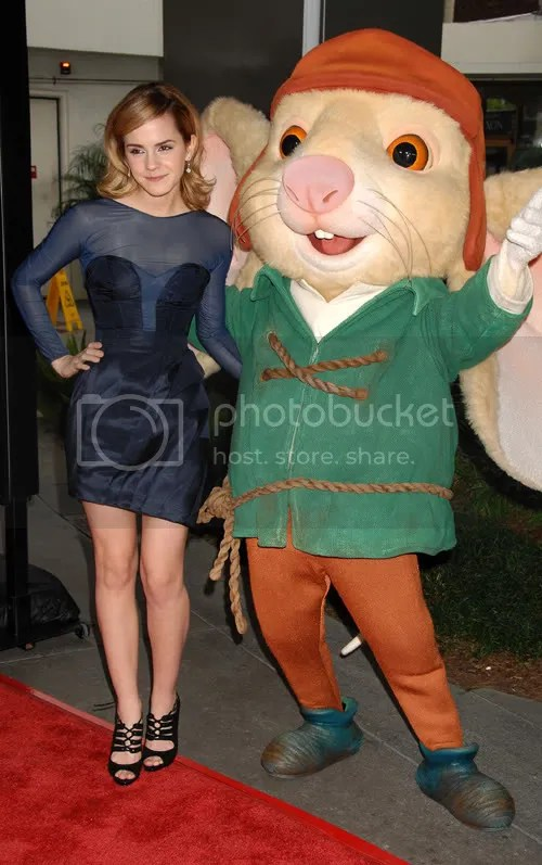 Emma Watson at the The Tales of Despereaux premiere