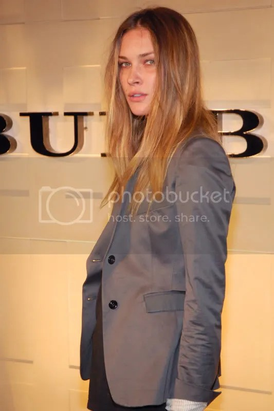Erin Wasson at the Burberry Beverly Hills reopening