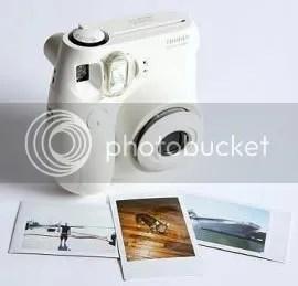 Fuji instant mini polaroid