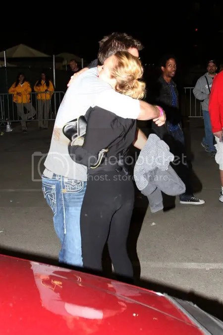 Hayden Panettiere at Madonna's Los Angeles concert