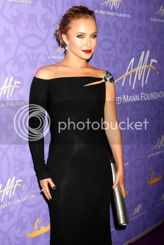 Hayden Panettiere Alfred Mann Foundation Gala