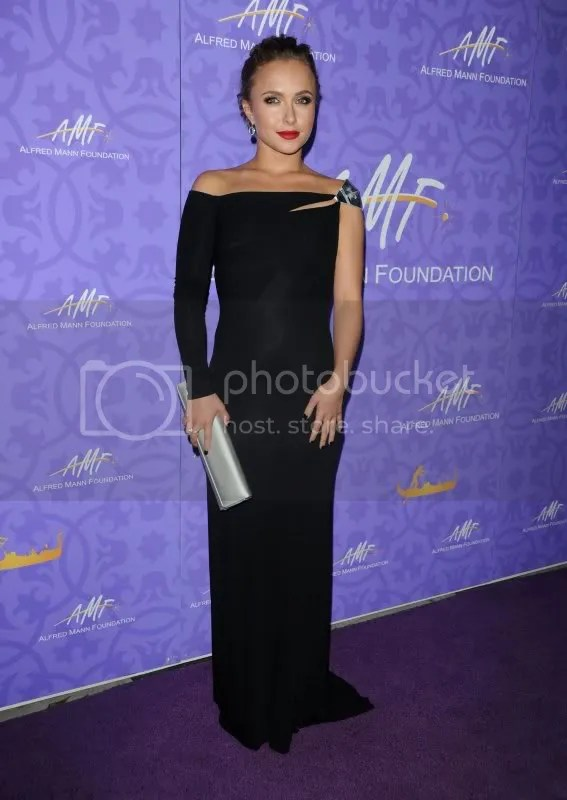 Hayden Panettiere Alfred Mann Foundation Gala