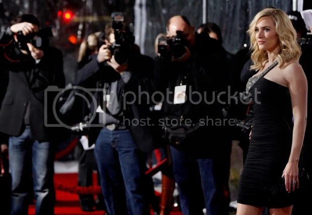 Kate Winslet at the LA Revolutionary Road premiere